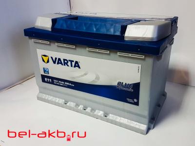 аккумулятор VARTA Blue Dynamic 74 R E11